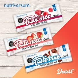 Протеиновый батончик в шоколадной глазури Taste Mee 60 г (24 г белка) Nutriversum