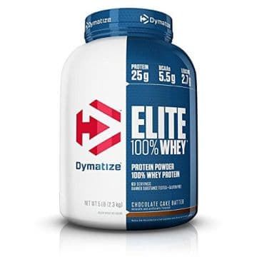 ELITE 100% Whey Protein 2,3 кг Dymatize