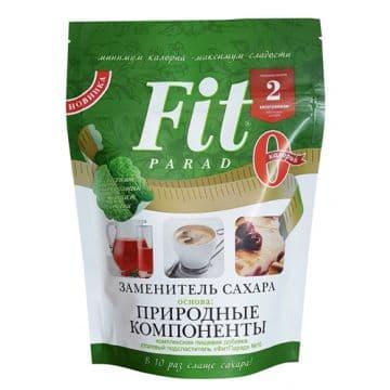 """Смесь пищевая сладкая """"ФитПарад №10"""" (заменитель сахара на основе эритрита) 150гр дойпак"""