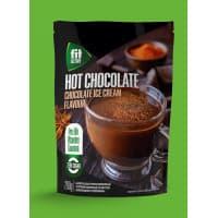 "Горячий шоколад со вкусом шоколадного пломбира ""ФитАктив"". 200 г дойпак."