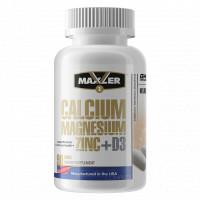 Calcium Magnesium Zinc + D3 90 табл Maxler