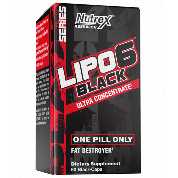 Lipo-6 black ultra concentrate 60 к Nutrex