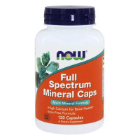 Full Spectrum Mineral 120 капсул NOW Foods