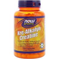 Kre-Alkalyn(R) Creatine 750 мг 120 капс. NOW Foods