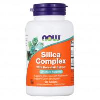 Silica complex 90 табл. NOW Foods