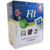 Заменитель сахара ФитПарад №14 на эритритоле и стевии. 100 саше.