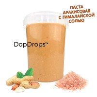 DopDrops Арахисовая Паста 1000г [гималайская соль]