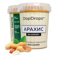 DopDrops Паста арахисовая протеиновая 1000г [без добавок]