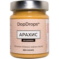 DopDrops Паста арахисовая протеиновая 265г [без добавок]