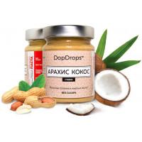DopDrops Паста арахис-кокос протеиновая 265г [стевия]