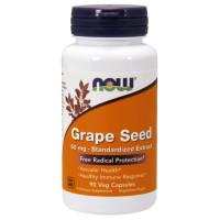 Grape Seed, Экстракт Виноградных Косточек 60 мг - 90 капсул NOW Foods