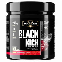 Black Kick 500 г в банке Maxler