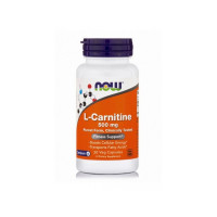 CARNITINE 500 мг 30 вег. капс. NOW Foods