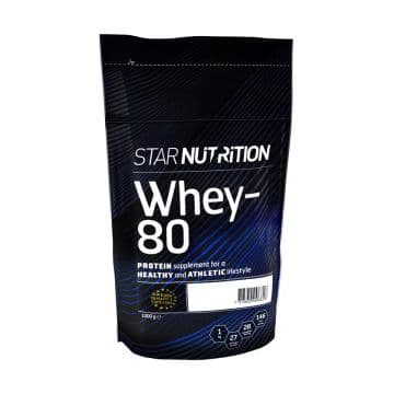Протеин Whey-80 Star Nutrition 1кг