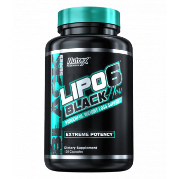 Lipo-6 HERS BLACK 120 капсул Nutrex