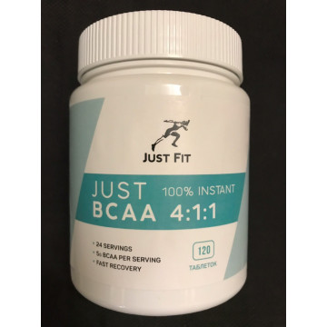 BCAA 4:1:1 120 таблеток JUST FIT