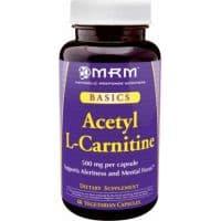 Ацетил L-карнитин (Alcar) 60 растительных капсул по 500 мг карнитина