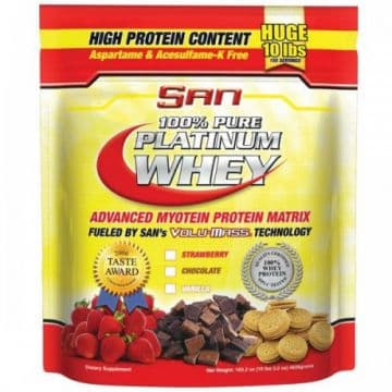 100% Pure Platinum Whey 4540 грамм (10LB)