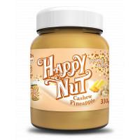 Кешью паста Happy Nut с арахисом и ананасом 330 г Happylife