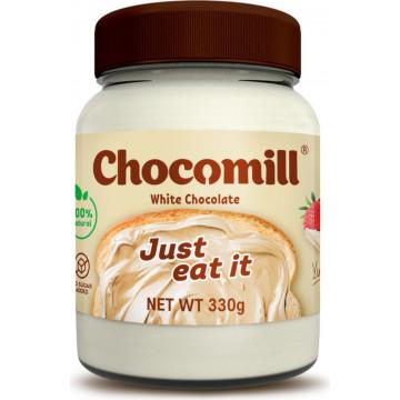 Шоколадная паста (белый шоколад) Chocomill С арахисом 330 г Happylife