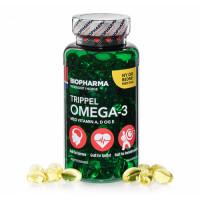Тройная Омега-3 Trippel Omega-3 144 капсулы Biopharma