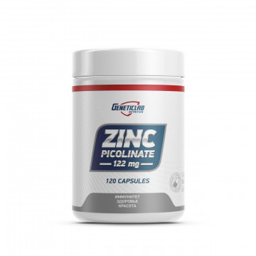 Минерал Geneticlab Nutrition Zinc Picolinate (120 капсул)
