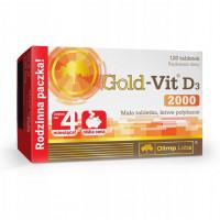 Gold-Vit D3 2000 120 таблеток Olimp