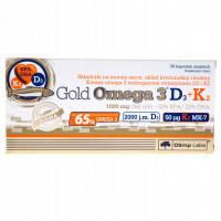Olimp Gold Omega 3 D3 + K2 30 капс.