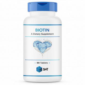 Biotin 10000 мкг 90 таблеток SNT