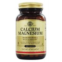 Calcium Magnesium (кальций, магний) 100 таб. Solgar