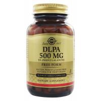 DLPA 500 мг 50 растительных капсул Solgar