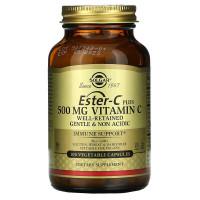 Ester-C Plus 500 мг (витамин С) 50 капсул Solgar