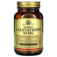 Reduced L-Glutathione (L-глутатион) 50 мг 90 растительных капсул Solgar