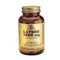 L-Lysine (лизин) 1000 мг 50 таблеток Solgar