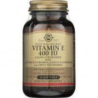 Vitamin E (витамин Е) 400 ME 50 капсул Solgar