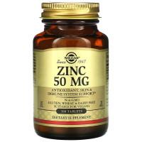 Zinc (цинк) 50 мг 100 таблеток Solgar