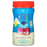 U-Cubes Children's Calcium with D3 (кальций, витамин D) 60 жевательных конфет Solgar