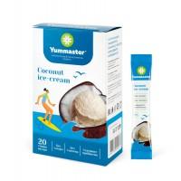 Yummaster Сахарозаменитель со вкусом Кокосовое мороженое в стиках порошок