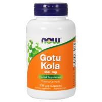 GOTU KOLA 450 мг 100 капсул NOW Foods
