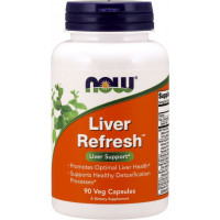 Liver Refresh 90 капсул Now Foods