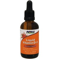 Liquid Vitamin D-3 (витамин D) 400МЕ 59 мл NOW Foods