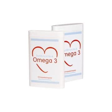 Sydanystava Omega-3 120 капсул