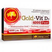 Gold-Vit D3 4000 Fast 30 таблеток Olimp
