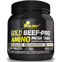 Gold Beef Pro Amino Mega 300 таб. Olimp
