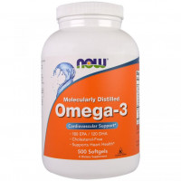 Omega-3 500 капс. NOW Foods