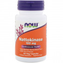Nattokinase 100 мг 60 капсул NOW Foods