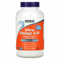 Ultra omega 3-D 180 капсул NOW Foods
