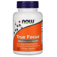 True Focus 90 капсул NOW Foods