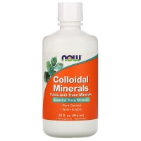 Colloidal Minerals (минералы) 946 мл NOW Foods