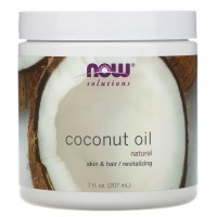 COCONUT OIL PURE 207 мл NOW Foods
